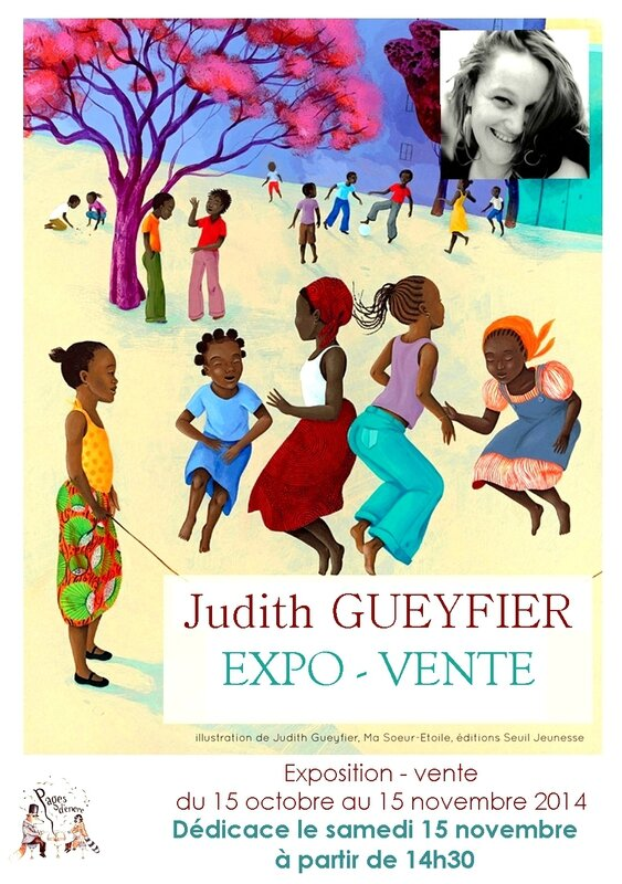 AFFICHE expo Judith