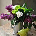 Avec des fleurs