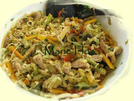 Sauté de porc aux légumes à la Chinoise 015