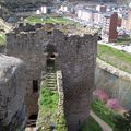 Ponferrada-château et chemin de ronde