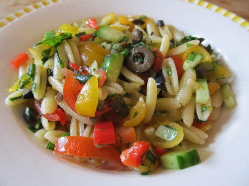 salade de p 226 tes italienne les festins du quotidien