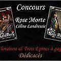 Concours tomes 1 & 2 sur le boudoir ecarlate !