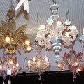 Clin d'oeil-lustres en verre de Murano de Formia