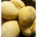 Cacher ces pains que je ne saurais voir... petits pains fendus au maïs et graines de lin
