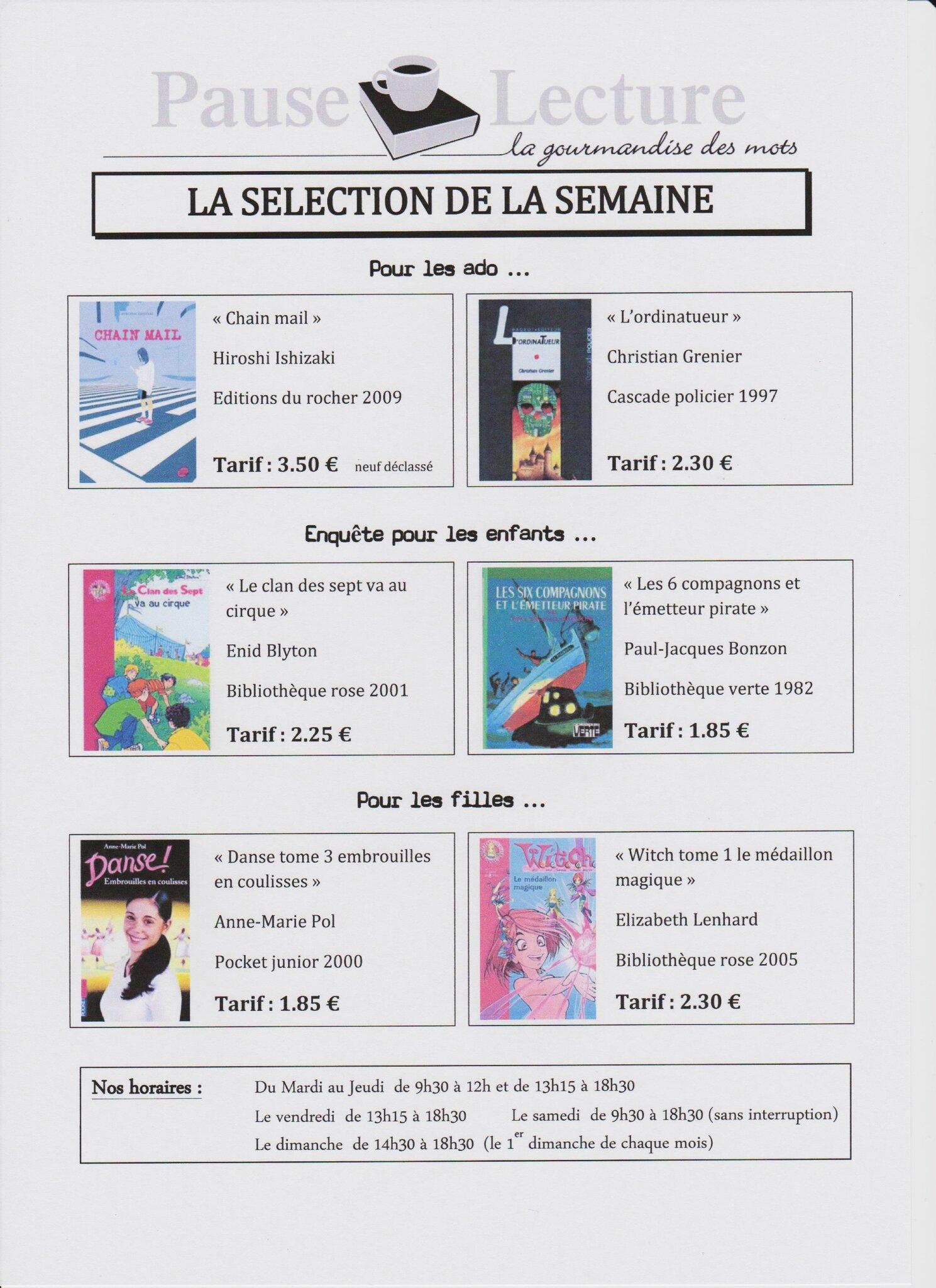 selection 9 001