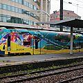 Z26500 dans une livrée spéciale Alstom constructeur en région Nord Pas-de-Calais, gare de Lille-Flandres