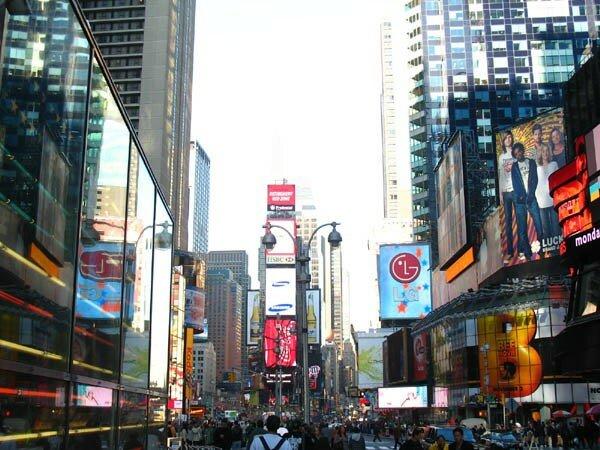 Times Square, empire de la consommation