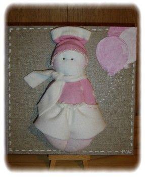 Socks dolls et tableaux pour enfants