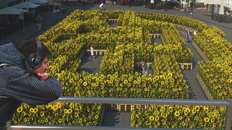Mons 2015 : 7500 Sunflowers at Sun City ! - 17 - 26/07/2015