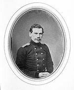 tolstoÏ léon en uniforme 1848