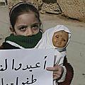 syrie/ alors que la guerre pourrait cesser, on s'apprête à envoyer des armes.