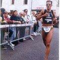 Arrivée Triathlon Nouatre 1997.