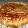 Tourte au saumon et aux endives