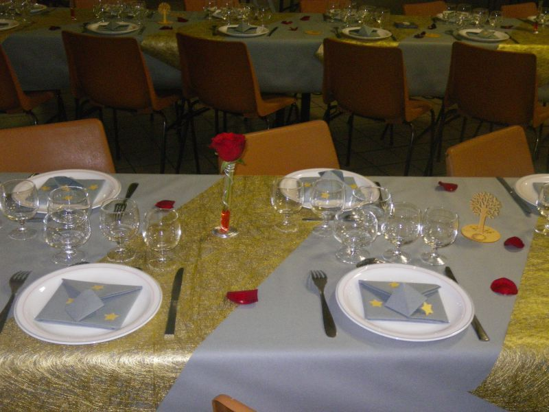 Table r veillon 2011 nat et sa boite id es - Table reveillon saint sylvestre ...