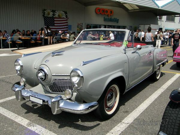 studebaker commander state convertible 1951 a