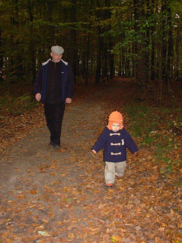 Arthur au bois fin octobre 2007