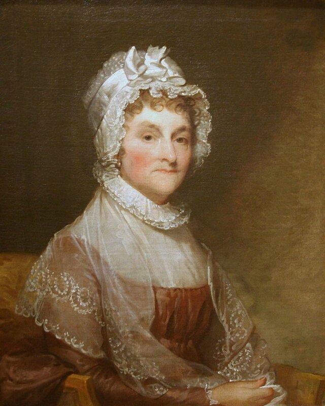 Abigail_Smith_Adams par Gilbert Stuart