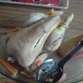 Poule au riz et sa Sauce suprême