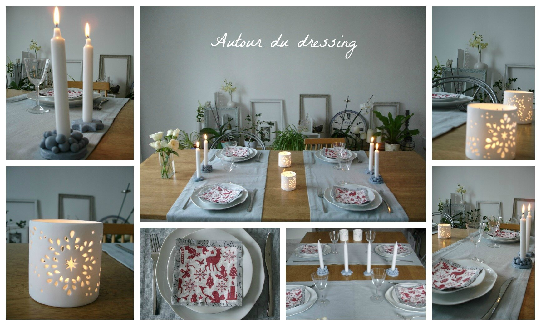 Diy archives page 2 sur 3 autour du dressingautour du for Diy deco table noel