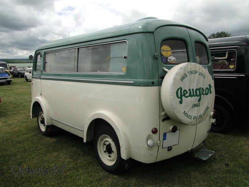 peugeot d4b vitre camping car 1962 b