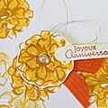 Carte Wink of stella - pinceau paillettes - katia nesiris démonstratrice Stampin'up