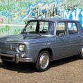 Renault 8 (Rencontre de véhicules anciens à Achenheim) 01