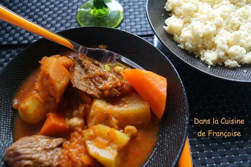 Couscous de Boeuf aux Légumes d'Hiver