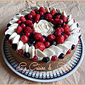 Cheesecake amandes & fruits rouges