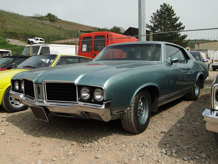 OLDSMOBILE Cutlass Supreme Holiday Hardtop Coupe 1970 Bourse Echanges de Soultzmatt 2010 1