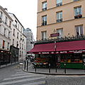 PARIS 18me ABBESSES - TROIS FRERES