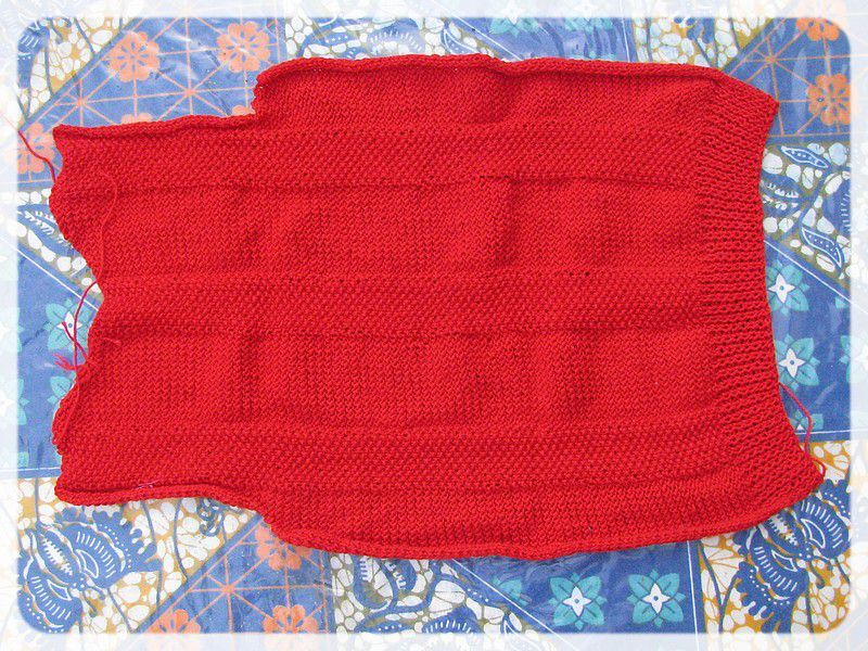 Tricot broderie chasbada - Broderie sur tricot point mousse ...