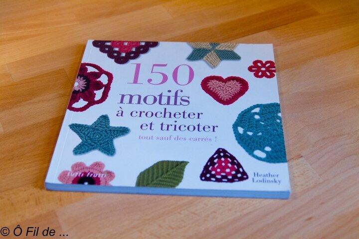 150 motifs à crocheter et tricoter