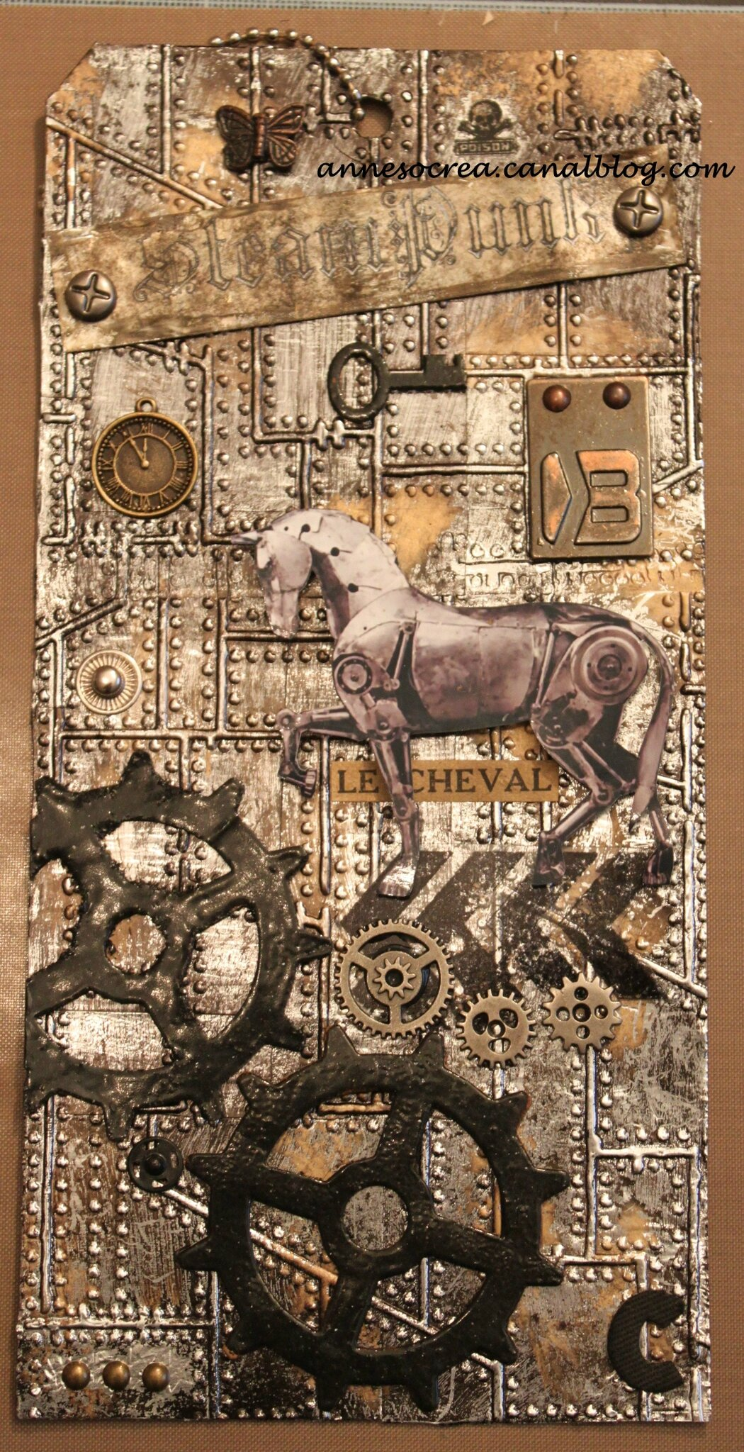 Tag Journal Lettre C/Cheval