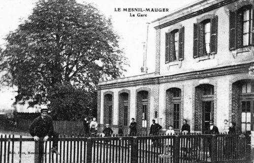 Le Mesnil-Mauger - la gare