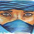 Les yeux de touareg