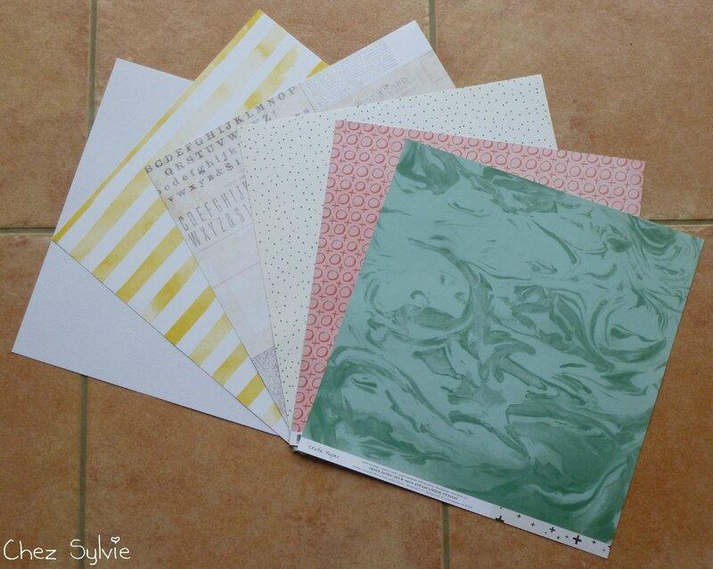 Kit 11-15 papiers verso