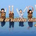 Une escouade de soldates chinoises sur les îles Xisha