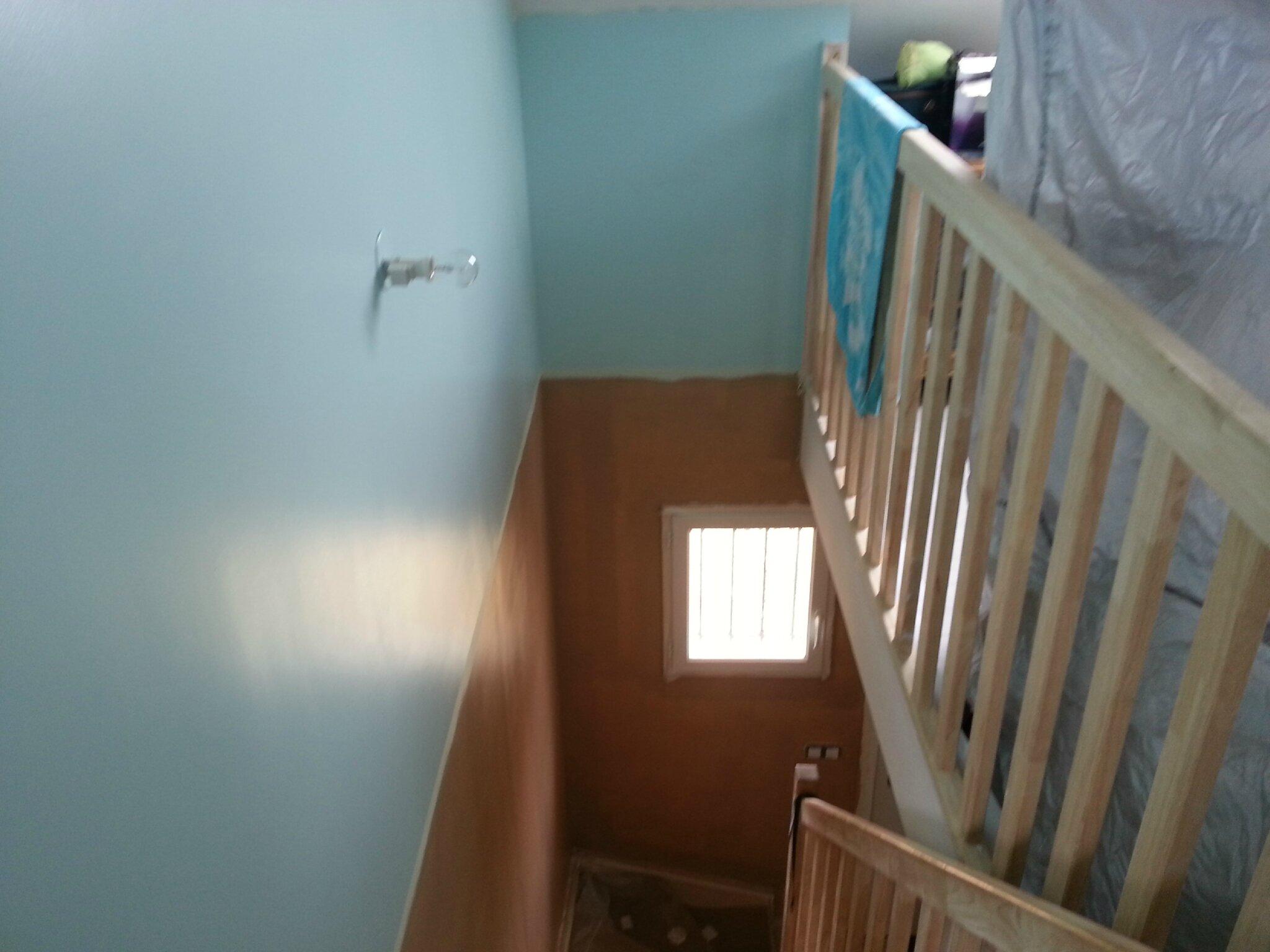 la descente d 39 escalier projet de maison ph nix equilibre dans l 39 oise. Black Bedroom Furniture Sets. Home Design Ideas