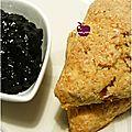 ..scones aux raisins secs infusés au grand marnier..