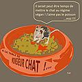 Regime vegan pour monsieur chat ???