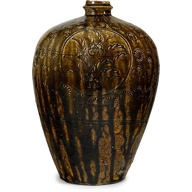 Rare 14th century ceramic flask leads the Bonhams Fine Japanese & Korean Works of Art Sale