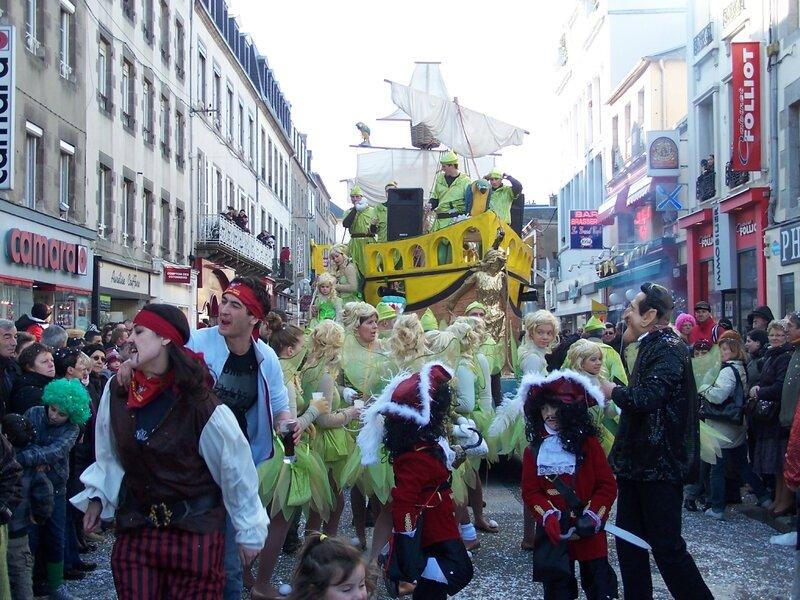 Carnaval Granville 2010 char calvalcade