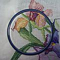 Bouquet d'iris DMC - en-cours (3)