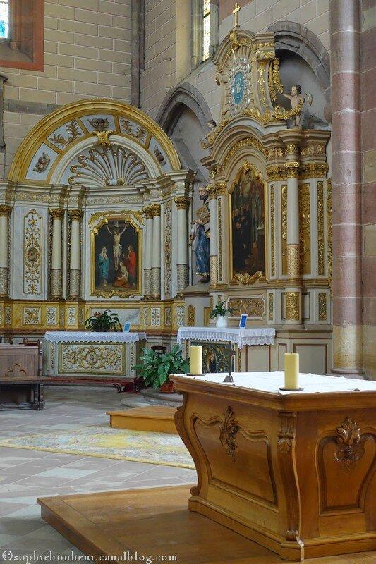 Marmoutier église autel