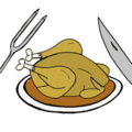 Poulet caramélisé au sirop d'érable