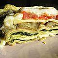 Lasagnes aubergine pesto