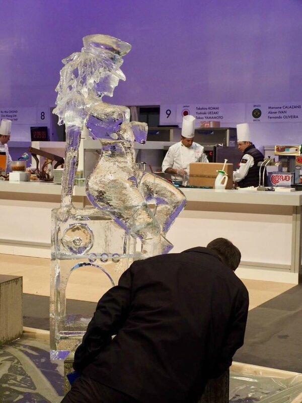 sculpture glace France