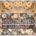 Lectures de 2016 - le challenge