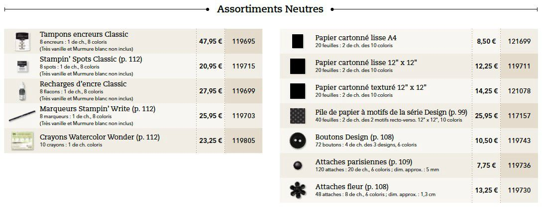 p094 neutres assortiments