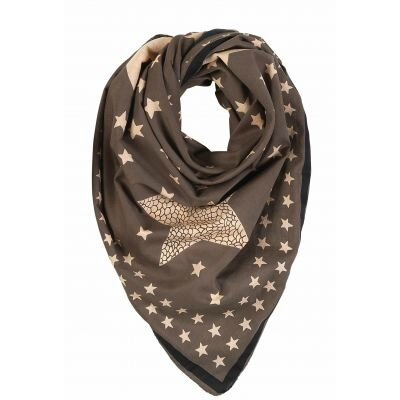becksondergaard-decorated-star-grey-cotton-scarf